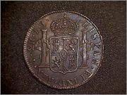 2 Reales 1825 Potosi - Fernando VII 209_001