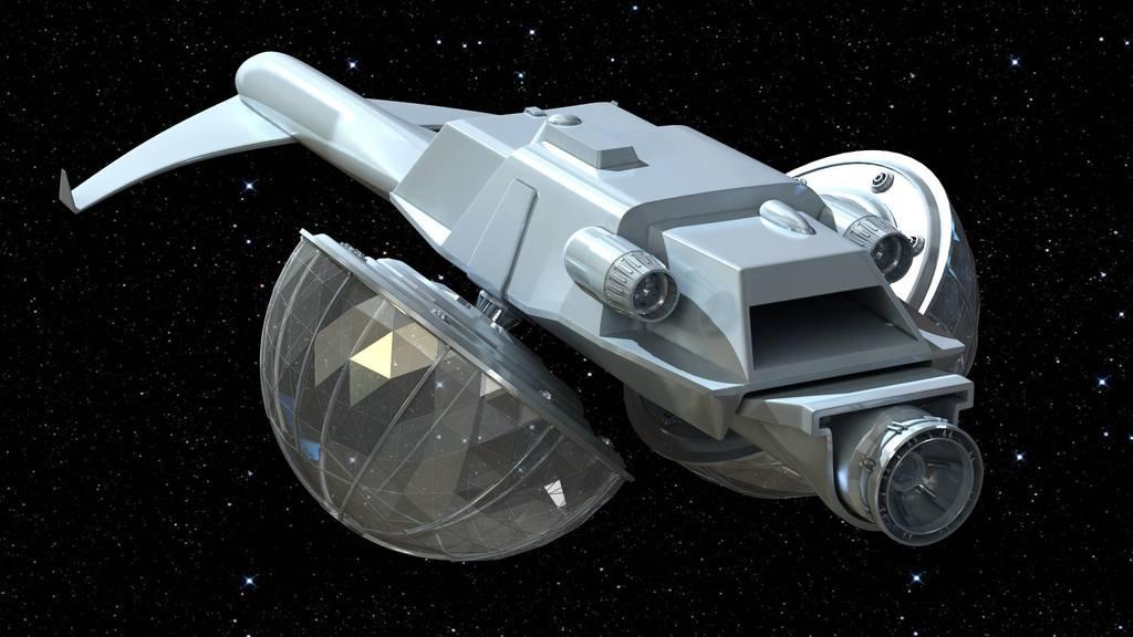 Emilon Provident-Class 3D CGI Model 009