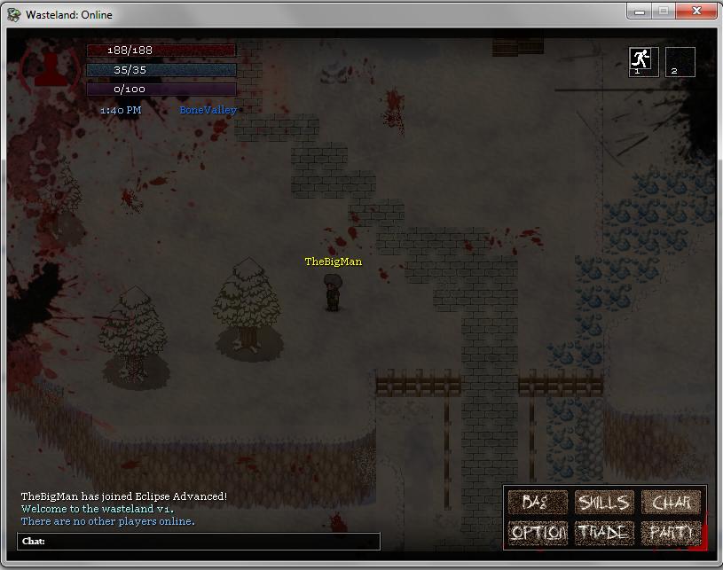 Wasteland Online - Updated Screenshots 3 (HUDS & GUIS)  Blood