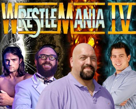 WFA Wrestlemania IV Television_Championship_Match