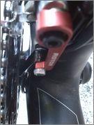 Montaje de sensor pedaleo y disco magnetico en cuadro carbono IMG_20160409_122707