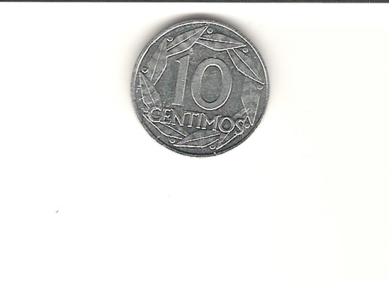 10 Céntimos 1959. Francisco Franco. Estado Español.   10_C_1959_1