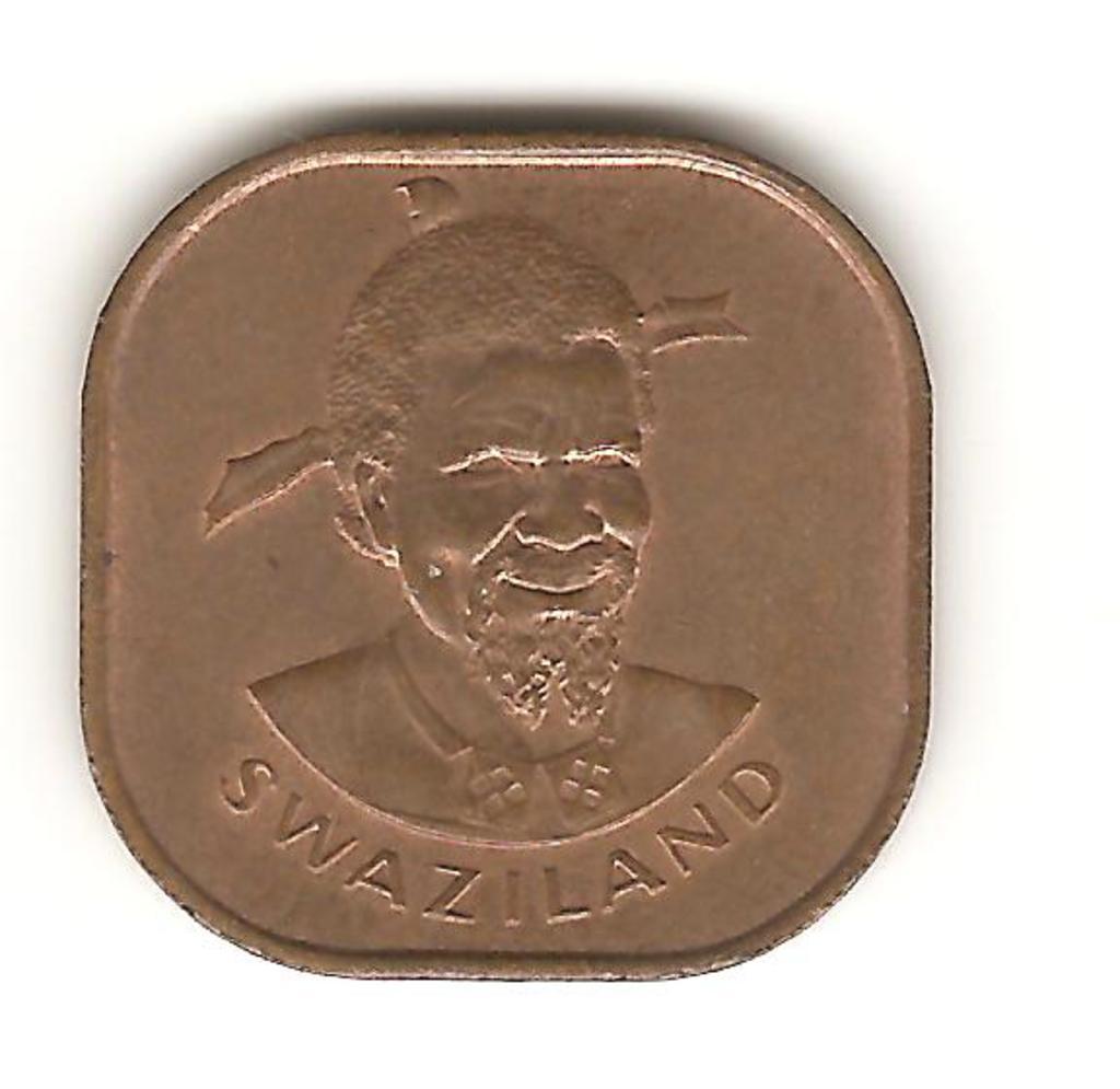 2 centavo de Swazilandia año 1975 Image