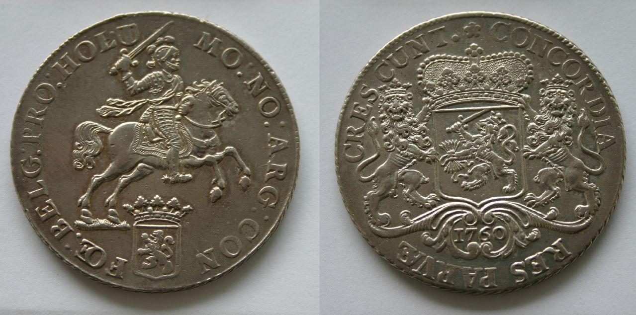 Jinete de plata de la provincia Holanda, 1760 (Países Bajos) Zilveren_rijder_Holland_1760