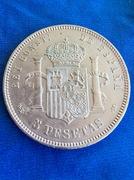 5 Pesetas 1877. Alfonso XII  IMG_3687