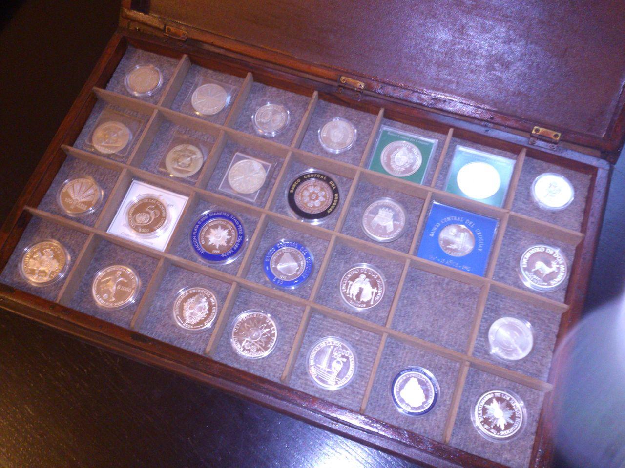Monedas conmemorativas de Uruguay acuñadas en plata 1961 - Presente. DSC_8964
