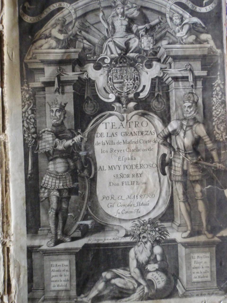 Estampas siglo XVII a la atención de Marqués de la Ensenada Estampas_Madrid_001