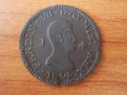 4 Maravedís 1.814 Jubia, Fernando VII DSCN1314