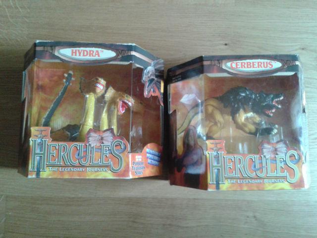 HERCULES SERIE TV 1995 - ACTION FIGURE IDRA E CERBERO Image