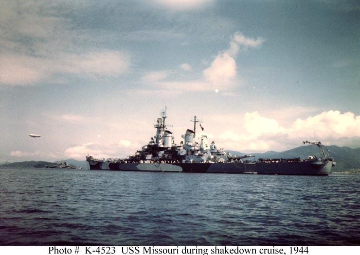 Battleship U.S.S. Missouri (WWII) - Σελίδα 2 K04523