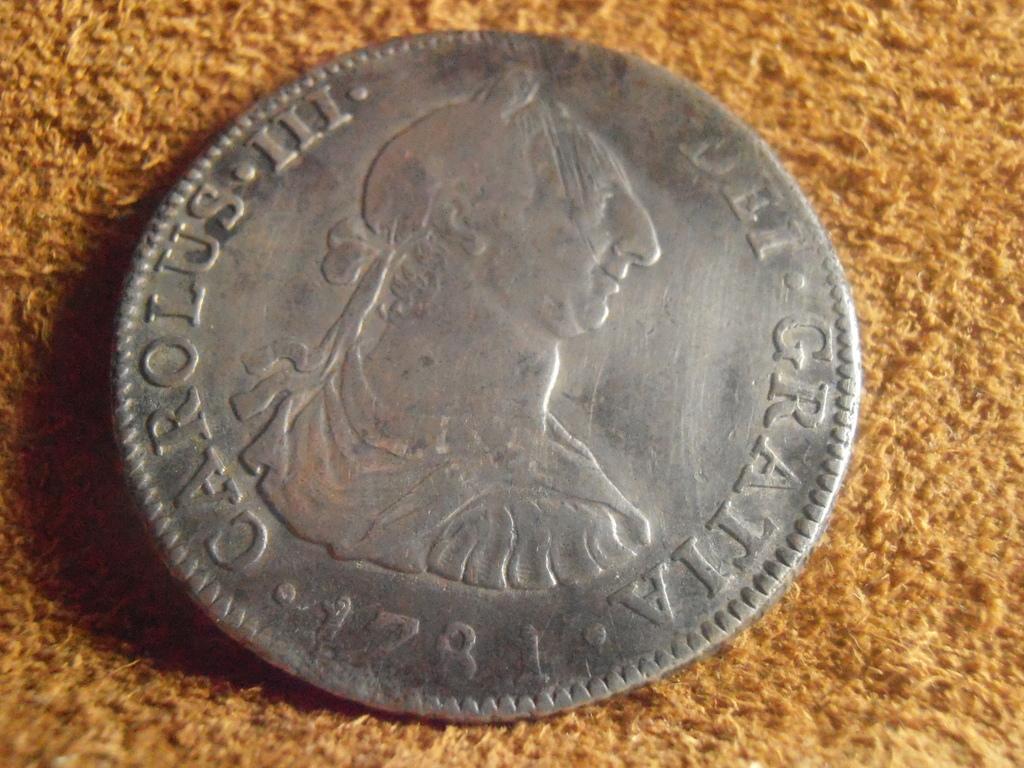 4 Reales 1781 Carlos III. Méjico P9030006