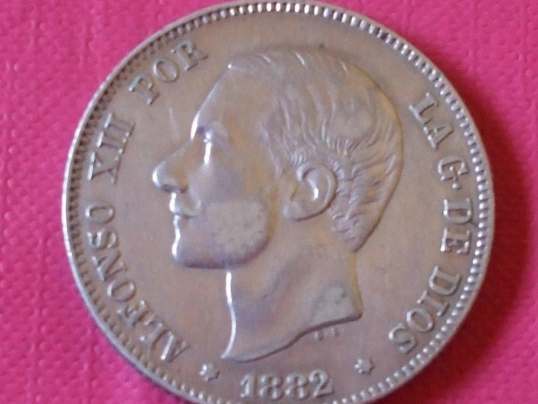 2 pesetas 1882 (*18-82). Alfonso XII. MSM DSCF3447
