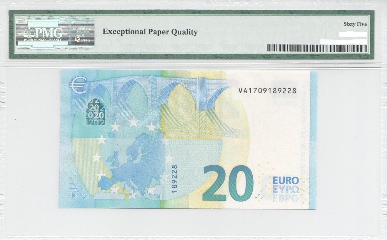 Colección de billetes españoles, sin serie o serie A de Sefcor - Página 2 Serie_europa_20_A_reverso