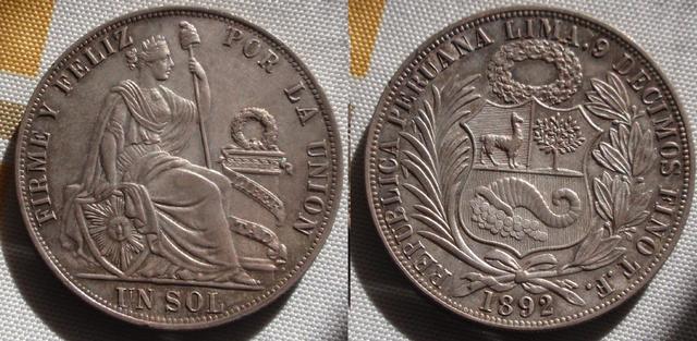 1 Sol 1895 Peru  0_1_sol_1892