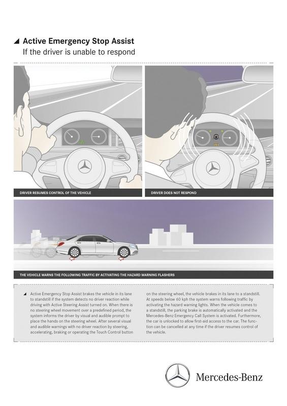 Classe S 2018 terá novos sistemas de assistência ao condutor Merc-teases-sclass-fl-interior-6