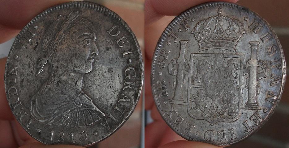 8 Reales 1810 Fernando VII Lima - Busto Indigena 1810_lima
