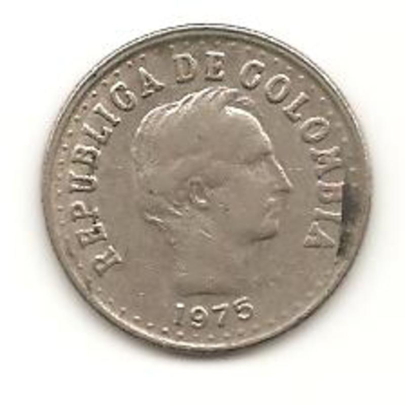 20 centavos de peso de 1975 Colombia Image