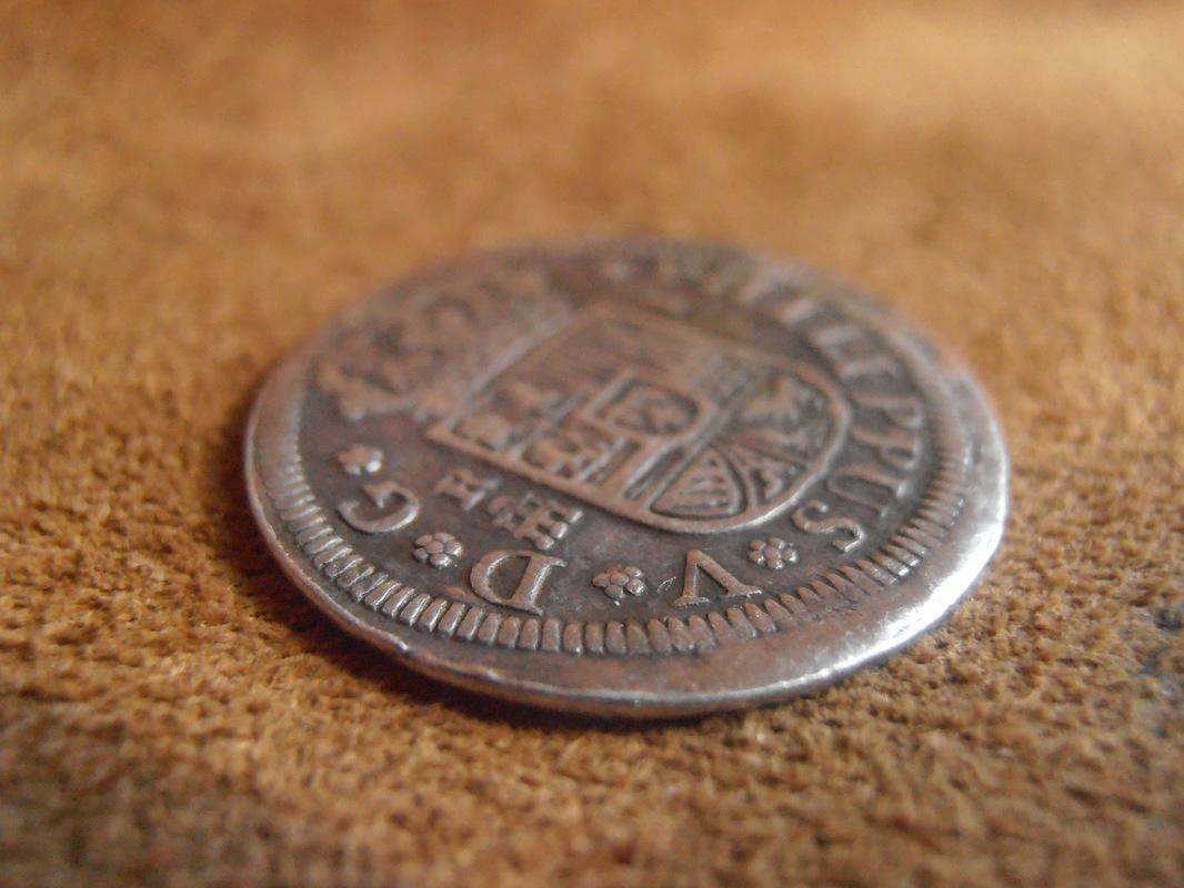 1 Real Felipe V , ceca de Segovia-1726. P3080004