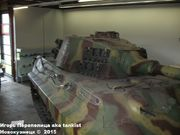 "Немецкий тяжелый танк PzKpfw VI Ausf.B ""Koenigtiger"", Sd.Kfz 182,  Deutsche Panzermuseum, Munster, Deutschland Koenigtiger_Munster_026"