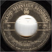 Gordana Runjajic - Diskografija 1962_za