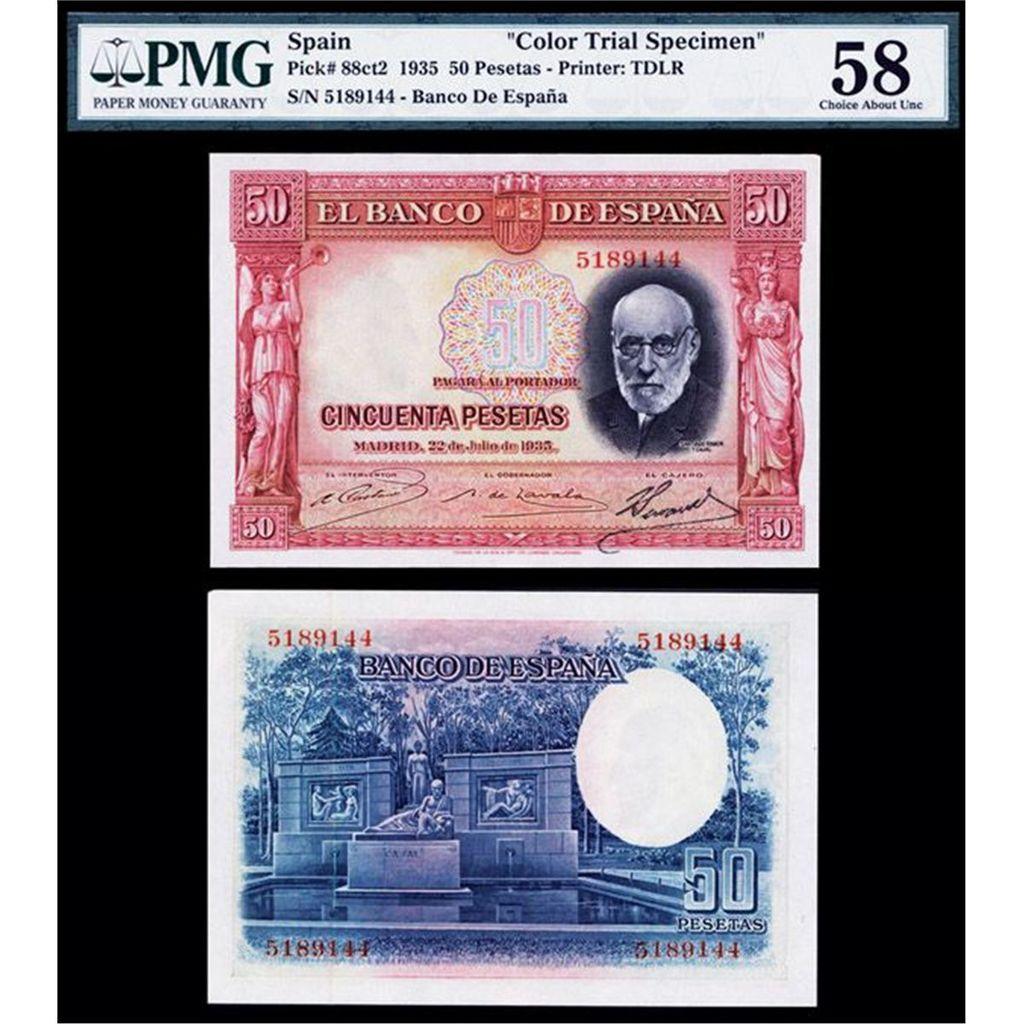 Sello falso - 100 Pesetas 25 Abril 1931. (Sello tampón privado del Águila de San Juan) 501935