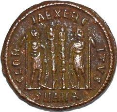 AE3 de Constantino I 227a