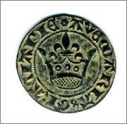 Jetón de Cuentas de la Corona. Francia. s.XV. Img469