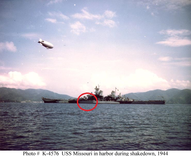 Battleship U.S.S. Missouri (WWII) - Σελίδα 2 K04576