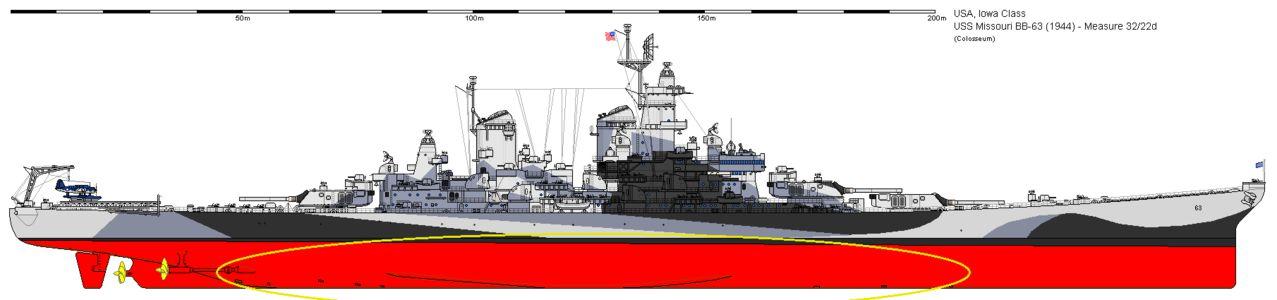 Battleship U.S.S. Missouri (WWII) - Σελίδα 3 BB_63_Missouri_1944_1