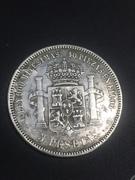 5 Pesetas 1876 *76  Alfonso XII IMG_6102