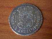 2 Reales Fernando VI ceca de Guatemala  1.755   DSCN0815