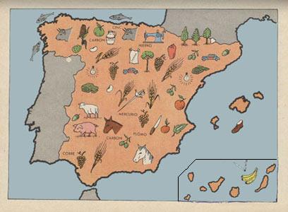 Mapa Economico De España.La Vida En Espana De 1963 Pagina 11