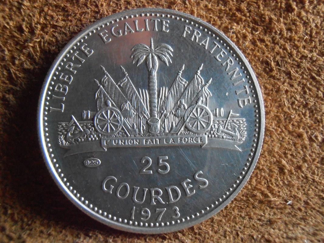 25 Gourdes 1973 Haití  P3280010
