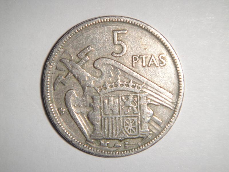 5 pesetas de 1957 DSC02726
