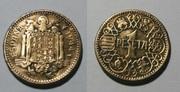 2,50 pesetas 1953 (*19-56). Estado Español. Duda con esta moneda. Peseta_franco