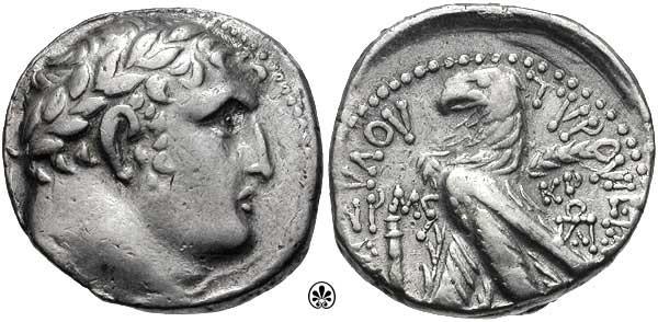 Las monedas de la traición de Judas. Tetra_tyro