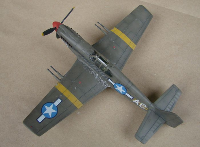 P-51 Mustang, Academy i P-51B Mustang (rebuild) Revell, 1/72 DSC02588