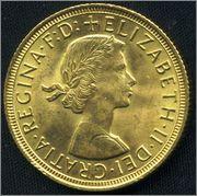 Soberano oro británico Isabel II 1958 0123_Isabel_II_1958_1_libra_esterlina001