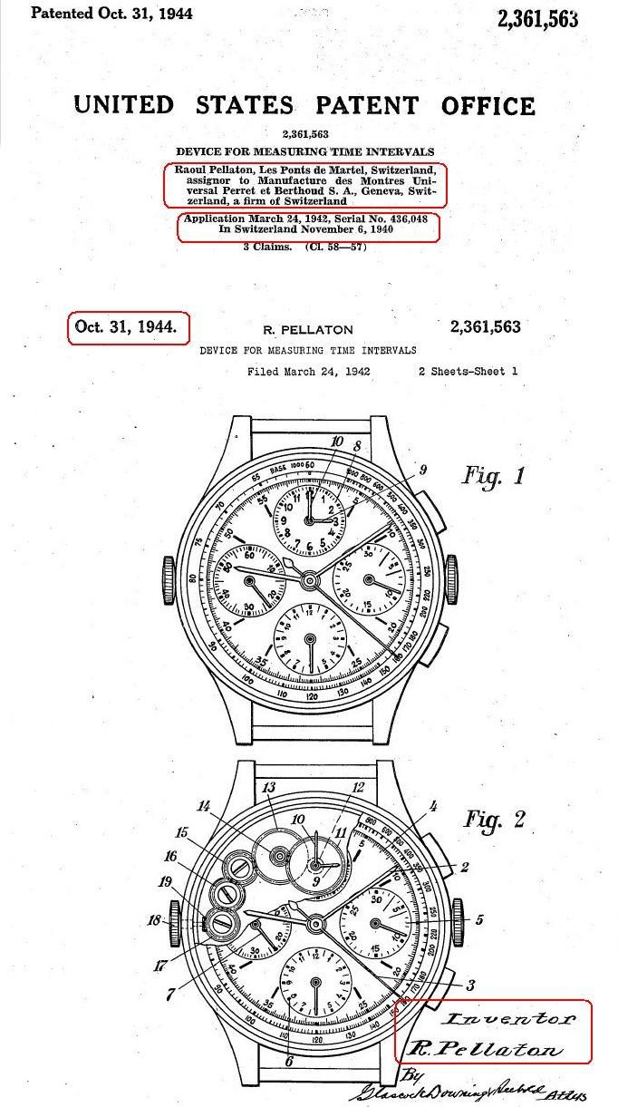 Les chronographes Universal Geneve de la série Compax - 2eme Partie Martel_1