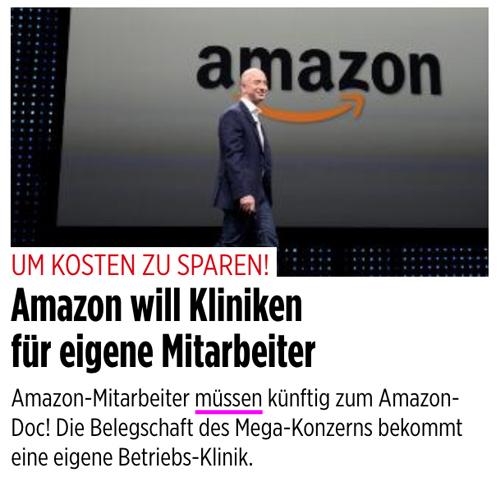 Gesund oder krank Amazon_muss
