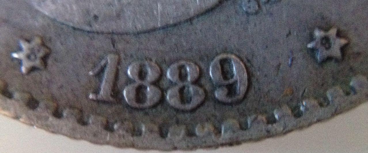 50 cts Alfonso Xlll 1889-*-9 Image