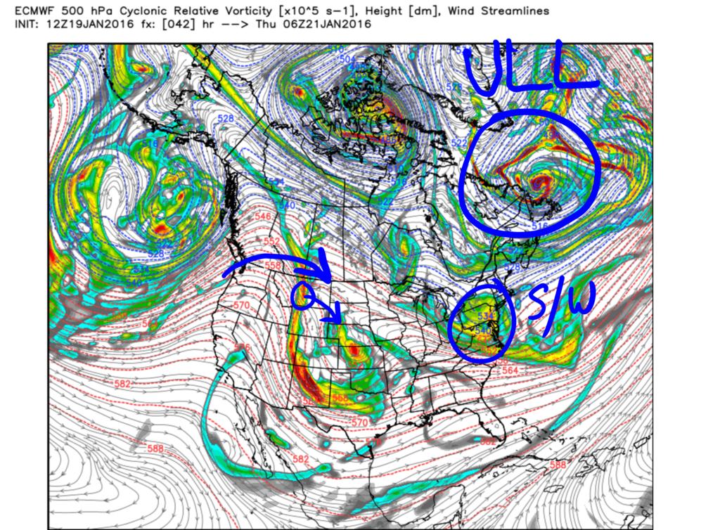 01/22/16 - 01/23/16 Update #3 - Will Models Trend Back North? Vort_1