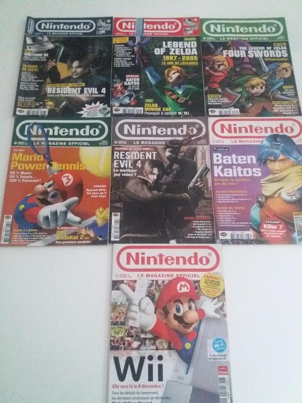 [EST] Lot magazine Nintendo Officiel 34011424_10157066965389041_882884798899552256_n