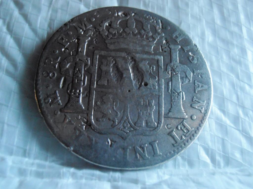 8 Reales 1798. Carlos IV. Méjico P9100012