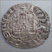 """Dinero """"novén"""" de Alfonso X. (1252-1284). Sevilla. 996746205"""