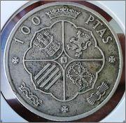 100 pesetas - Franco 1966 100_ptas_Franco_1966_2