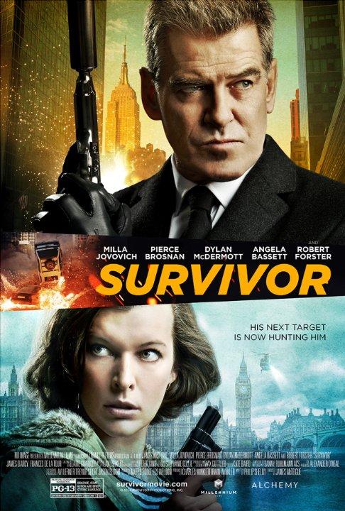 Milla Jovovich Survivivor_Poster
