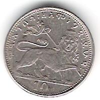 10 Matonas. Etiopía (1931) ETI_10_Matonas_rev