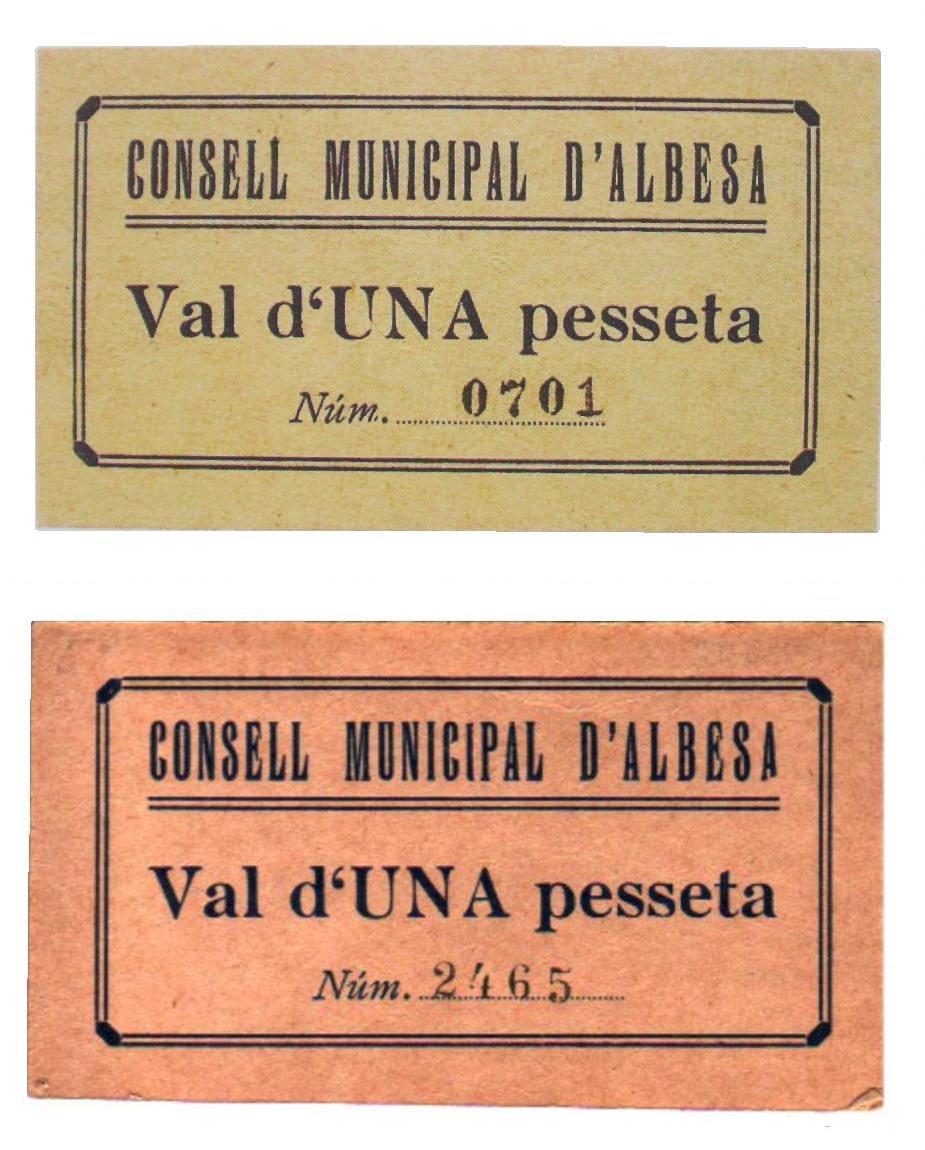 1 Pesseta Albesa, 1937 (sin fecha T86) S_1800ab