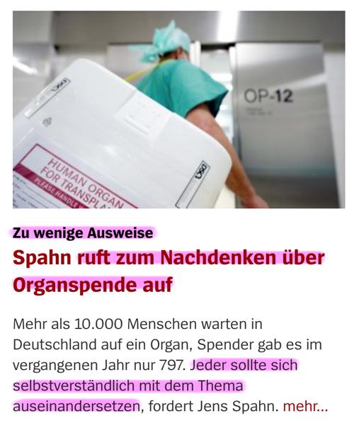 Organspende / Transplantation Orga_02